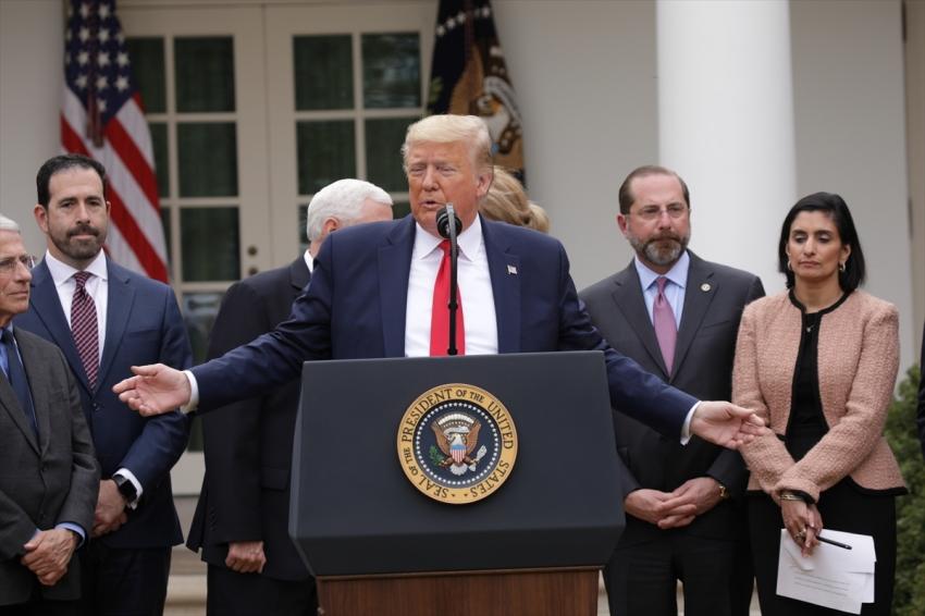 Trump 'ulusal acil durum' ilan etti