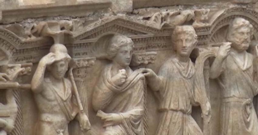 Truva Savaşı'nın lahidi Bursa'da bulundu