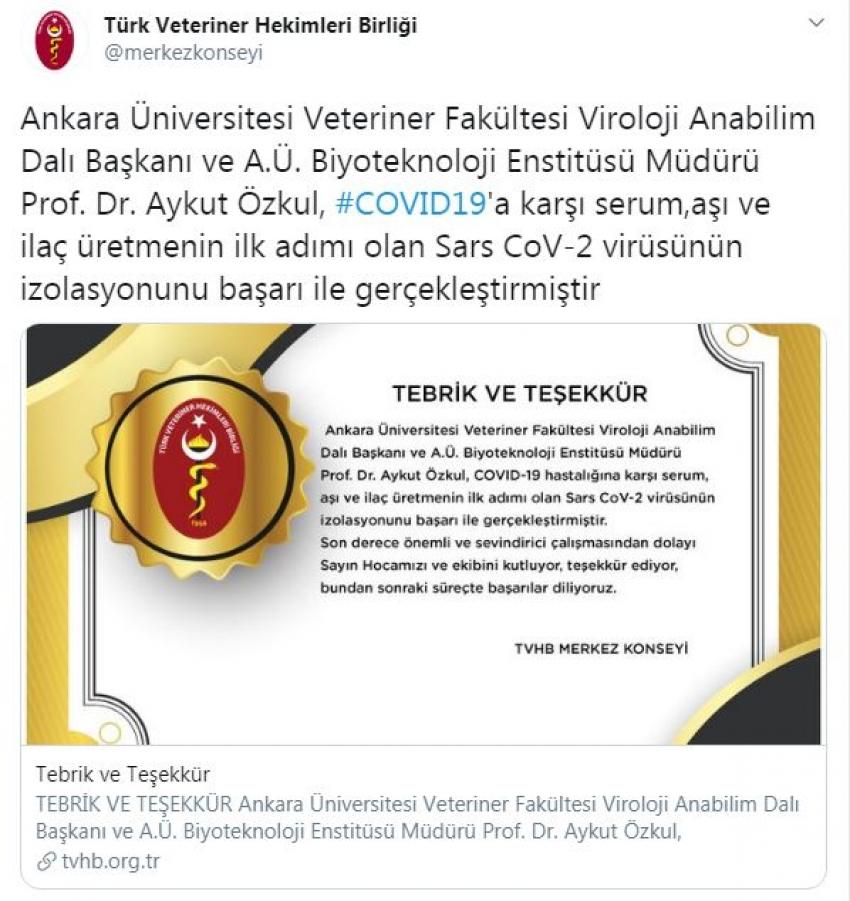 Türk bilim insanı başardı!