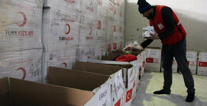 Türk Kızılay Reyhanlı'da lojistik merkezi inşa ettirecek
