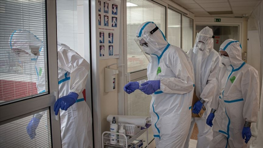 Türkiye'de koronavirüsten can kaybı 10 bin 326 oldu
