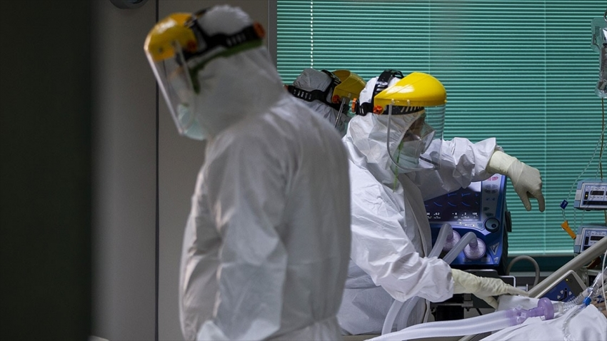 Türkiye'de koronavirüsten can kaybı 12 bin 219 oldu