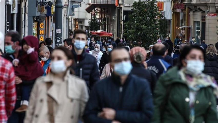 Türkiye'de koronavirüsten can kaybı 13 bin 373 oldu