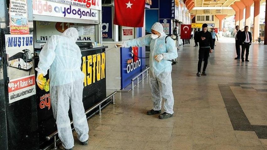 Türkiye'de koronavirüsten can kaybı 15 bin 103 oldu