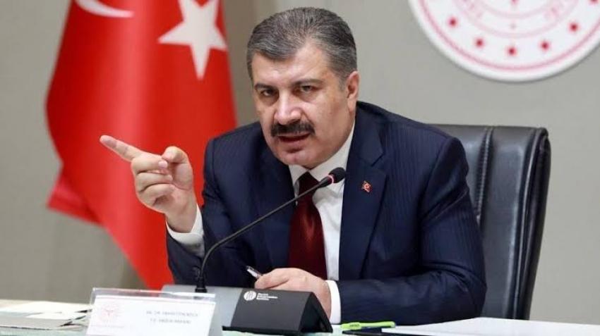 Türkiye'de koronavirüsten can kaybı 19 bin 371 oldu