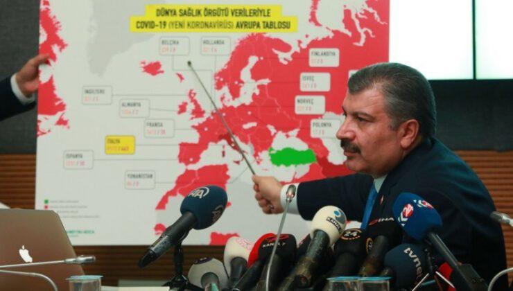 Türkiye'de koronavirüsten can kaybı 22 bin 631 oldu