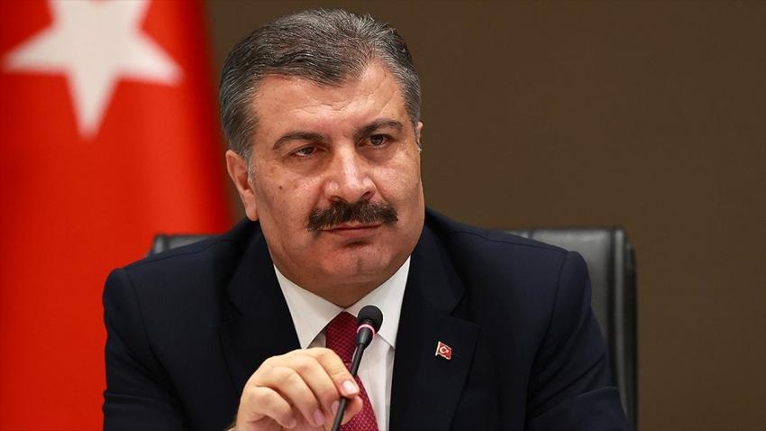Türkiye'de koronavirüsten can kaybı 5 bin 596 oldu