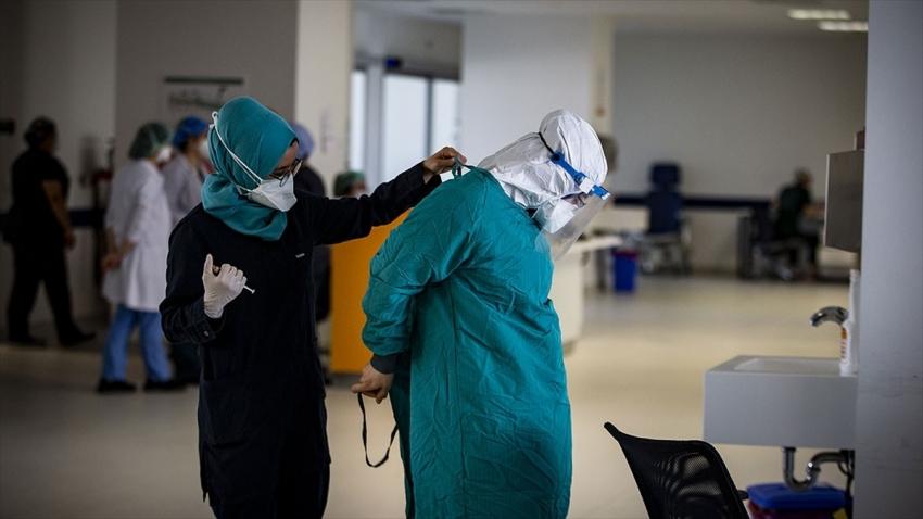 Türkiye'de koronavirüsten can kaybı 6 bin 163 oldu