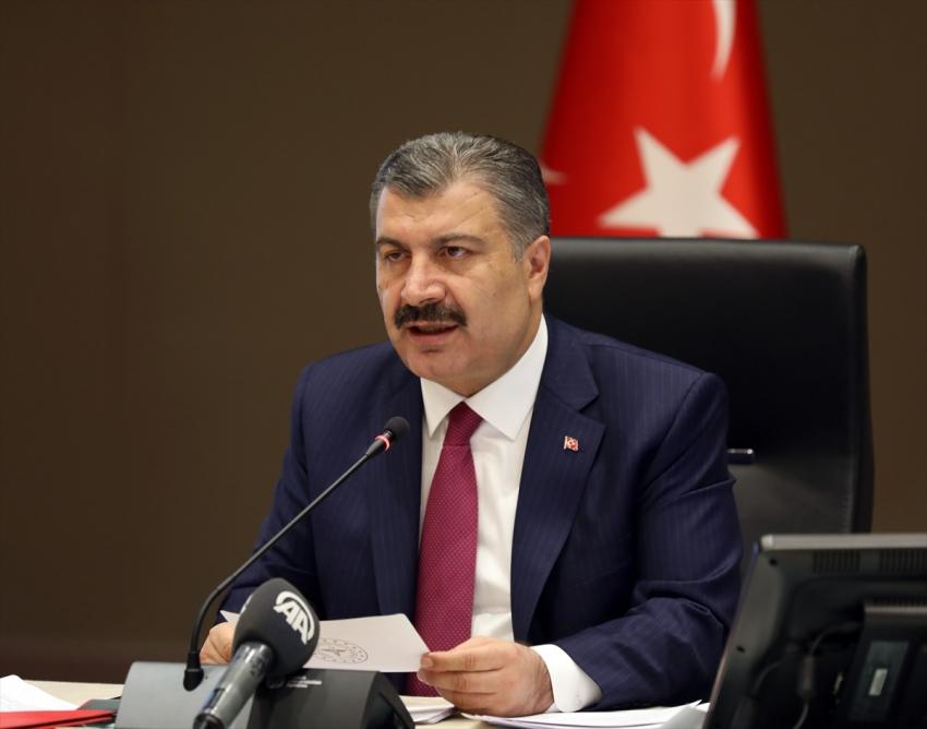Türkiye'de koronavirüsten can kaybı 6 bin 58 oldu