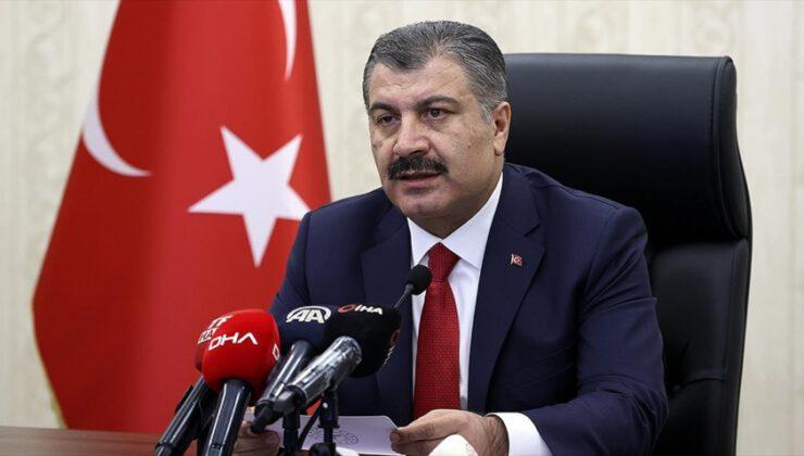 Türkiye'de koronavirüsten can kaybı 6 bin 951 oldu