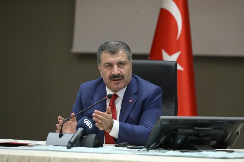 Türkiye'de koronavirüsten can kaybı 7 bin 119 oldu