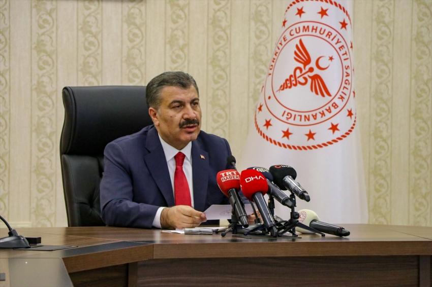Türkiye'de koronavirüsten can kaybı 7 bin 186 oldu
