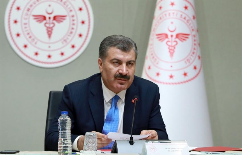 Türkiye'de koronavirüsten can kaybı 75 oldu