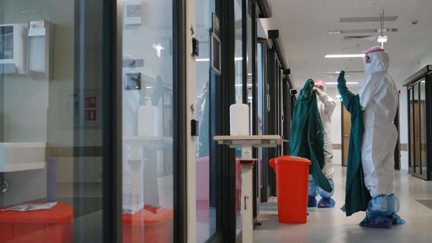Türkiye'de koronavirüsten can kaybı 8 bin 130 oldu