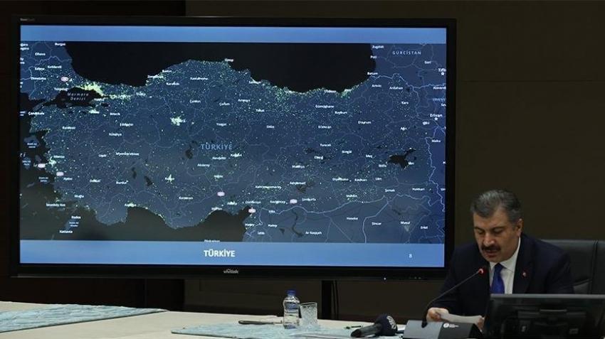Türkiye'de koronavirüsten can kaybı 9 bin 14 oldu
