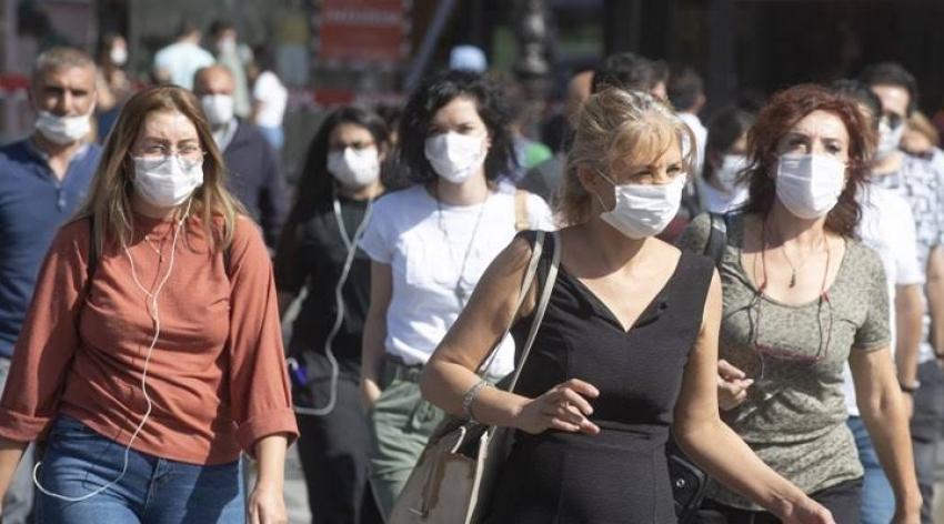 Türkiye'de koronavirüsten can kaybı 9 bin 727 oldu