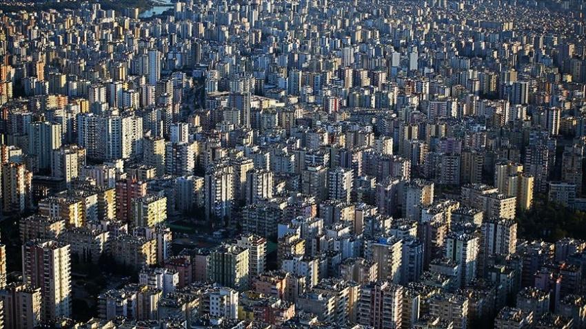 Türkiye'de son 5 yılda 6,6 milyon konut satıldı